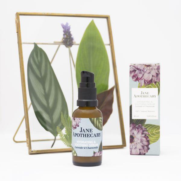 Sérum hidratante y calmante para pieles sensibles