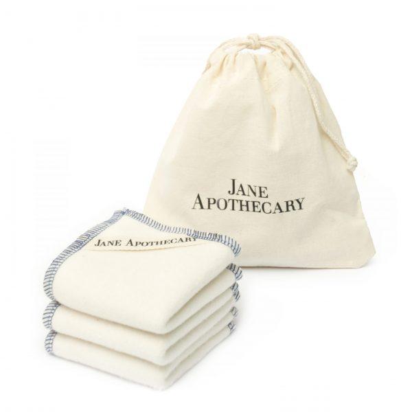 pack de toallitas de algodón orgánico pieles sensibles